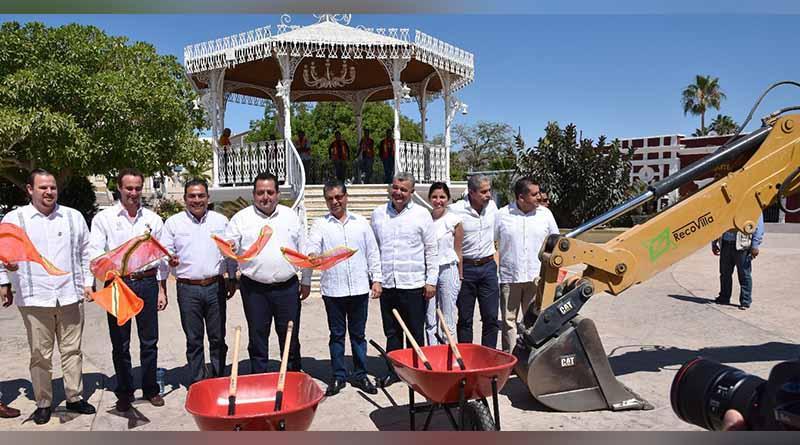 Inicia primera etapa de la rehabilitación plaza Antonio Mijares en SJC