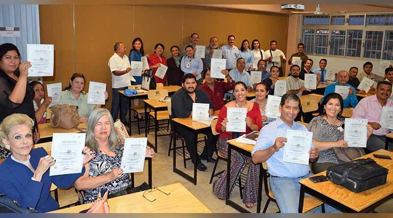Clausura ICATEBCS curso para formación de instructores