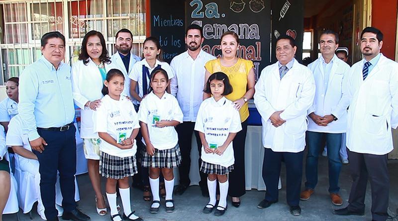 """Inicia   la 2ª. Semana Nacional de Salud con el lema """"Mientras tu los quieres, las Vacunas los protegen"""""""