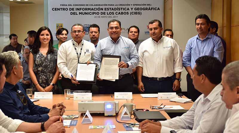 Logra Gobierno de Los Cabos, creación y operación del centro de información estadística y geográfica (CIEG)