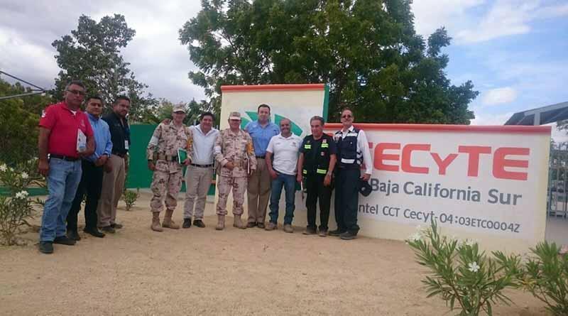 Realizan recorrido de supervisión en instalaciones que operan como refugios temporales