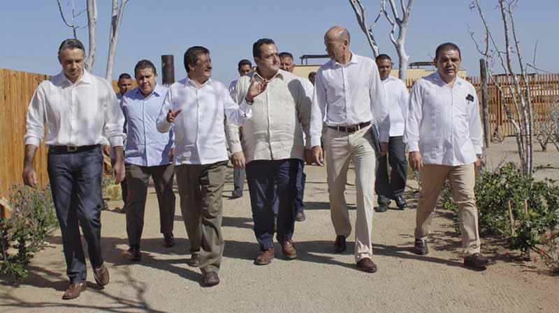Alcalde de La Paz y Gobernador realizan gira de trabajo por Todos Santos y Los Barriles