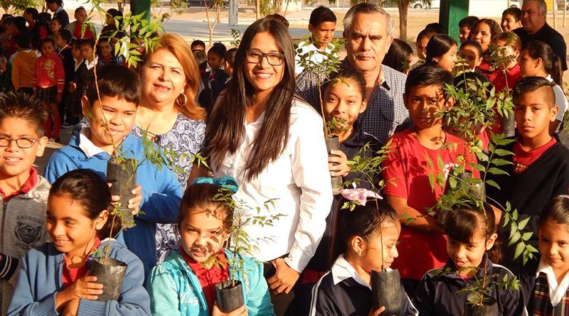 Continúa con éxito el programa de reforestación urbana