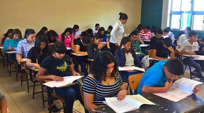 Más de 13 mil jóvenes aplicaron examen de nuevo ingreso a bachillerato en los diversos  subsistemas