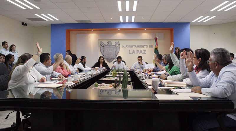 Aprueba Cabildo de La Paz la realización de un estudio para determinar la factibilidad del aumento de tarifas del transporte público