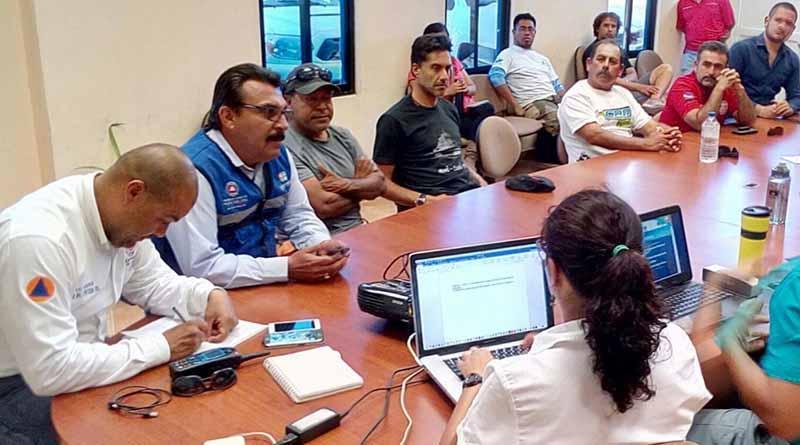 Gobierno Del Estado y prestadores de servicios,unidos para fortalecer la cultura de la protección civil