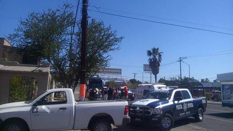 Reportan asalto de terminal de autobuses en La Paz; y 2 detenidos