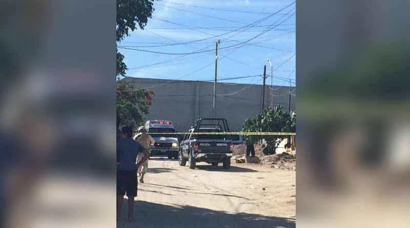 Pistoleros disparan cuerno de chivo desde ventana de casa en Las Veredas y hieren a mujer