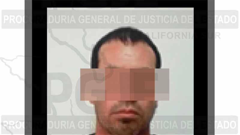 Detienen a sujeto con 100 dosis de cristal en La Paz