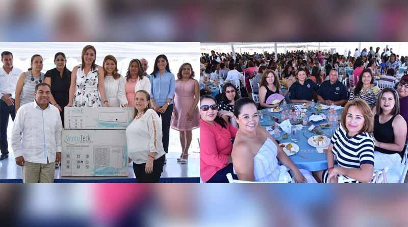 Convive alcalde con las madres trabajadoras del Ayuntamiento de Los Cabos