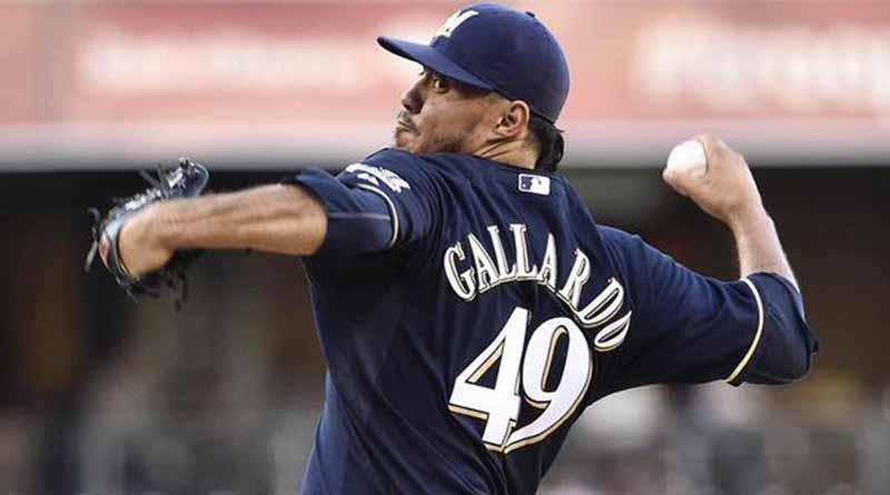 Lanzador mexicano Gallardo recibe paliza en derrota de Marineros de Seattle