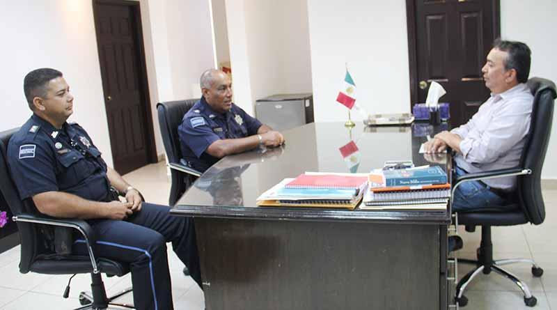 Gobierno Municipal y PF Refrendan Compromiso de Trabajar Coordinadamente