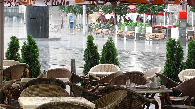 Pronostican lluvias con intervalos de chubascos en la mayor parte del país