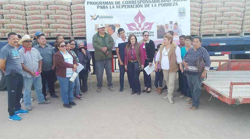 Entrega Ayuntamiento 64 Toneladas de Cemento Subsidiado a Habitantes de Cd. Insurgentes