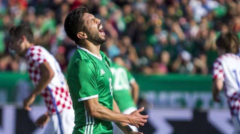 México cae 1-2 frente a Croacia en partido amistoso de futbol