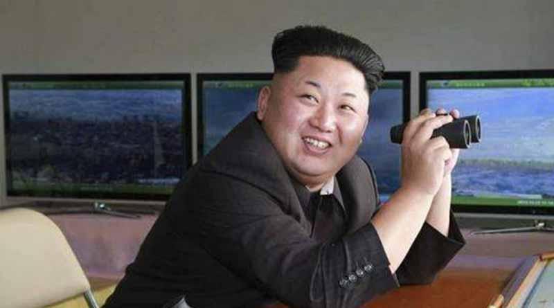 Líder norcoreano asiste a prueba de misil y ordena construcción en masa