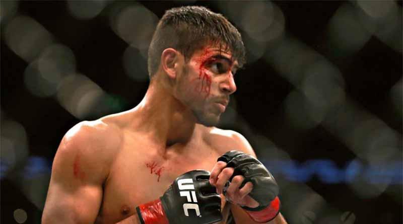 """Maltratan a """"Pantera"""" Rodríguez en noche triste para mexicanos en UFC 211"""