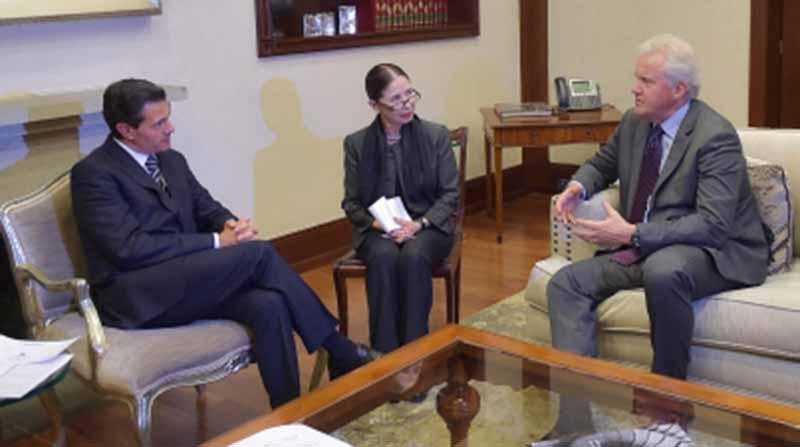 General Electric expresa a Peña Nieto interés en duplicar compras a proveedores mexicanos