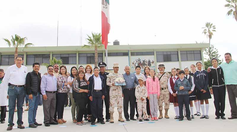 Encabeza Síndico Municipal Laura Chacón Programa de Soldado Por un Día