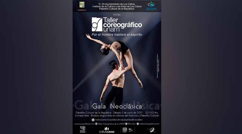 Se presentará por primera vez en Los Cabos el taller coreográfico de la  UNAM: Alan Castro