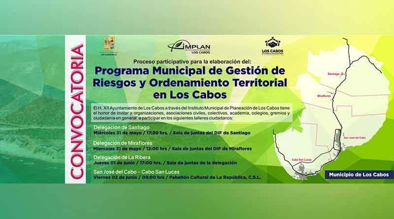 Se invita a la población a asistir al 3er.  taller de participación ciudadana