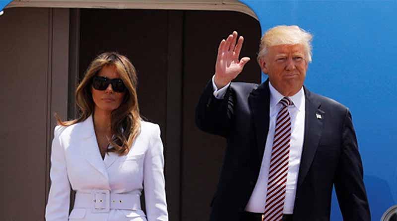Trump llega a Israel en busca de diálogo palestino-israelí