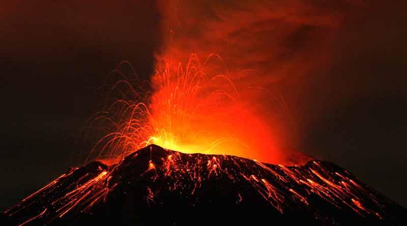 Protección civil reporta incremento en la actividad volcánica del Popocatépetl