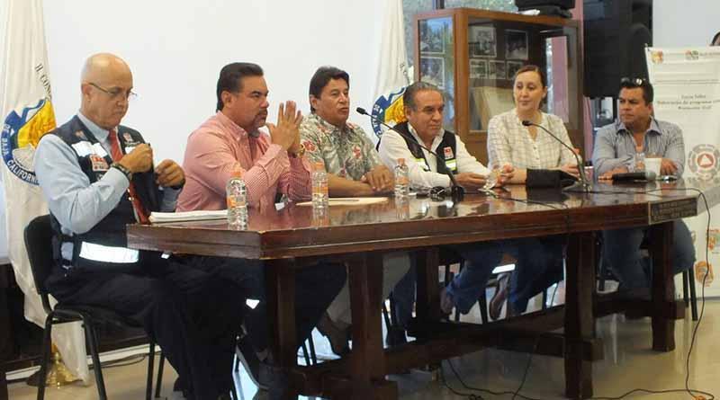 Inicia el Congreso del Estado curso interno de Protección Civil