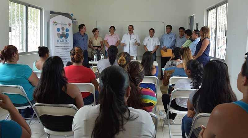 Inicia ICATGE BCS curso de capacitación en Los Cabos