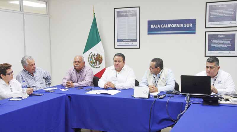 Estrechan relación de colaboración SEPADA e INEGI a favor de sectores productivos