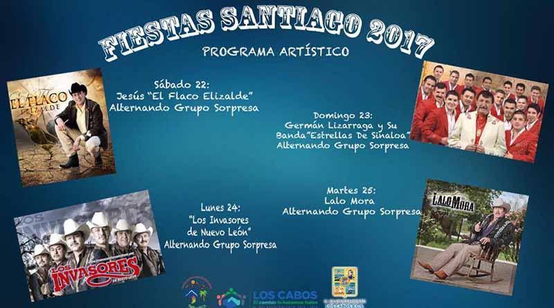 Invitan a la comunidad a disfrutar de las fiestas tradicionales Santiago 2017