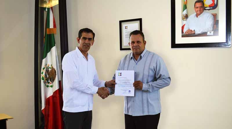Nombra Sigala Páez a nuevo titular de la dirección general de ejecución, prevención y reinserción social en BCS