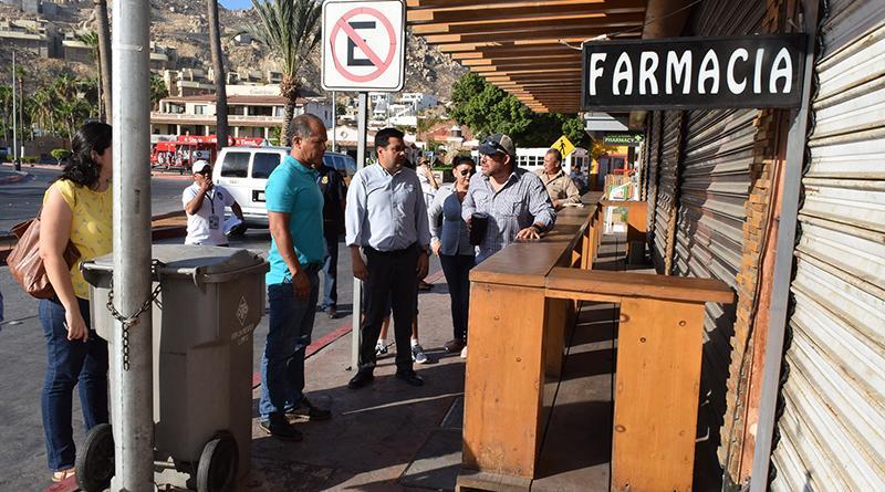 Sociedad y Gobierno trabajan de la mano para el bienestar del centro de Cabo San Lucas