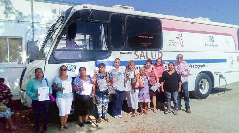 Mediante Unidad Móvil secretaría de salud desarrolla mastografías en San José Del Cabo