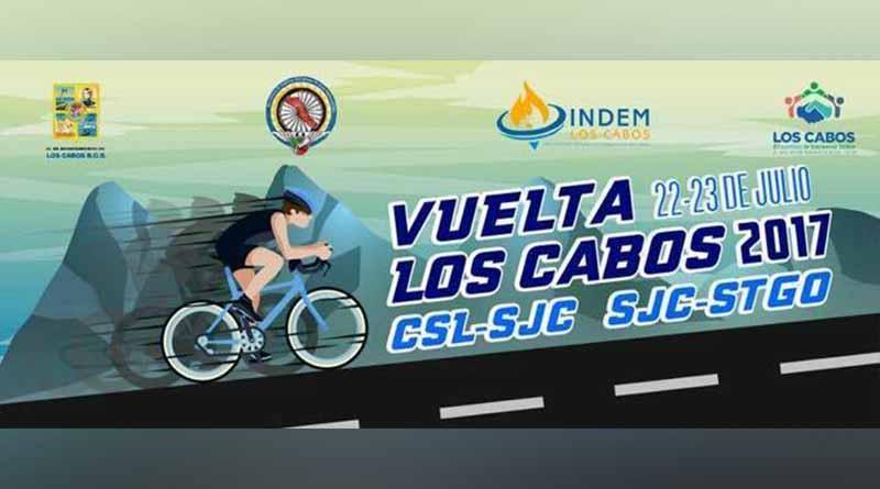 """Todo listo para carrera ciclista  """"Vuelta Los Cabos 2017"""""""