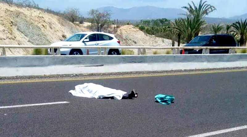 Muere mujer atropellada en el corredor turístico