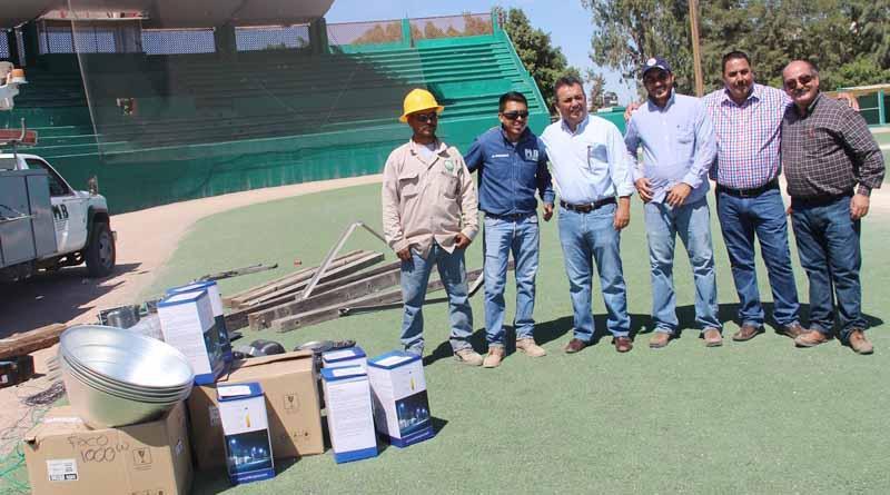 En Comondú se Dignifican Instalaciones Deportivas: FPC