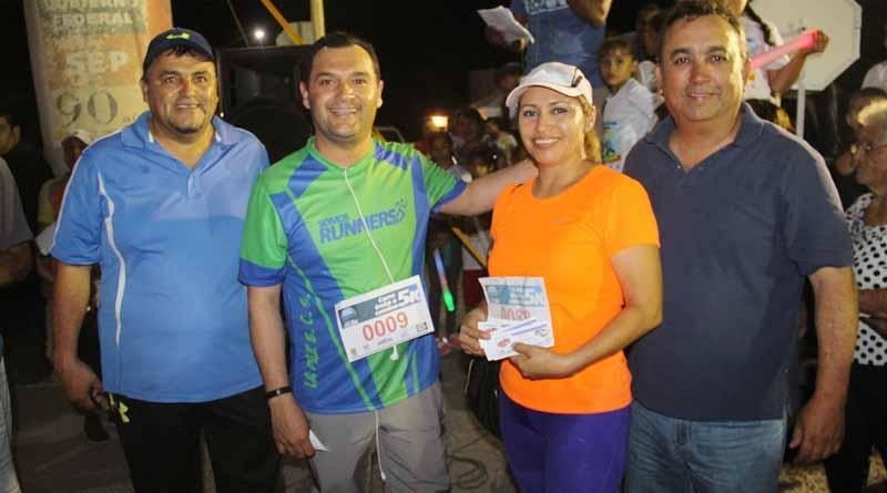 Encabeza Alcalde Francisco Pelayo Carrera 5K de La Expo Comondú 2017