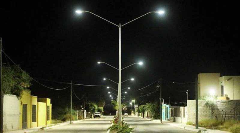 Comondú Presenta Nueva Imagen con Lámparas Leed en Alumbrado Público