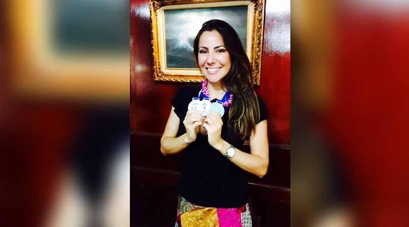 Estrella Navarro triple medallista en el nacional de APNEA