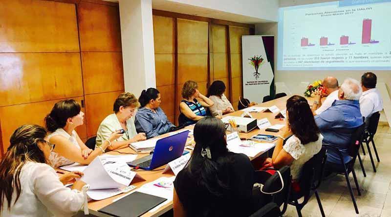 Instituto de las Mujeres realizó la 4ta sesión ordinaria de Junta de Gobierno
