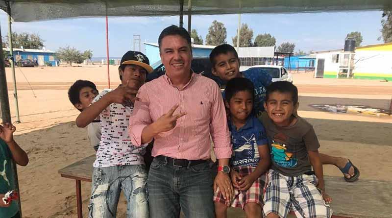 Recorre Diputado Joel Vargas Aguiar el distrito electoral que representa en el Congreso del Estado