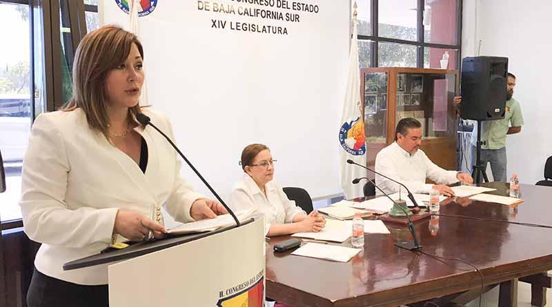 Presenta Dip. Norma Peña iniciativa a favor de los jóvenes en materia de justicia