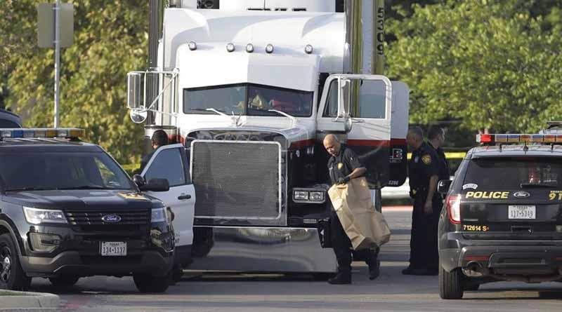 Crece a 10 número de indocumentados muertos en caja de tráiler en Texas