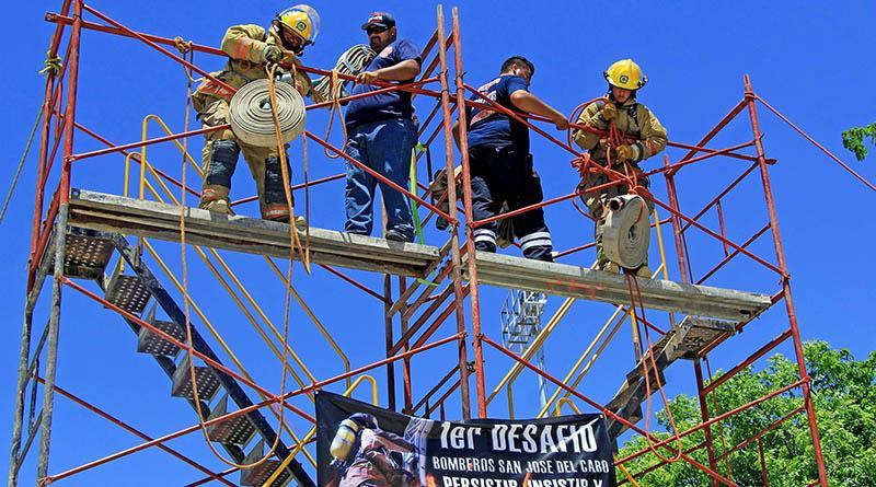 Celebran cuerpos de socorro, día del bombero con el 1er. Desafío San José 2017