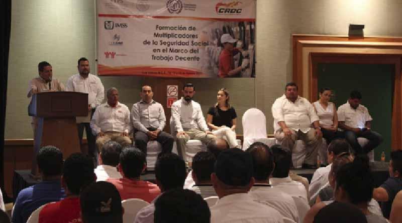 Realiza CROC evento de formación de multiplicadores en materia de seguridad social