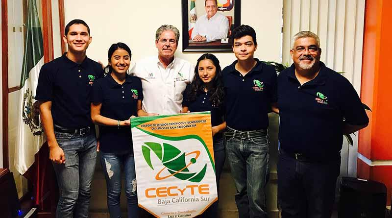 Participan alumnos de CECYTE BCS en foro internacional de ciencia e ingeniería en Santiago de chile