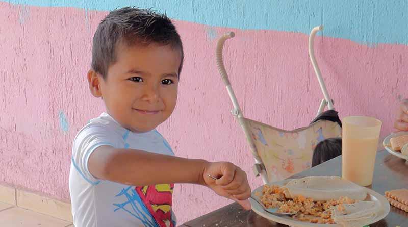 Demos una alimentación sana, variada y nutritiva a nuestras niñas y niños