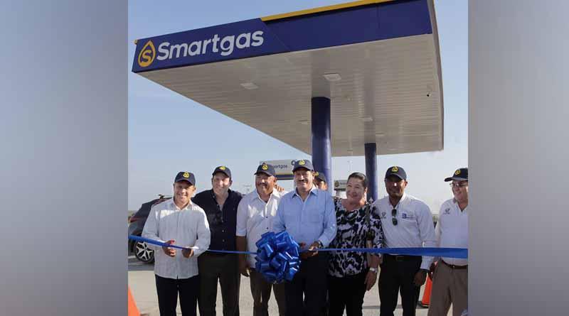 Inauguran primera gasolinera Smartgas en el municipio de La Paz