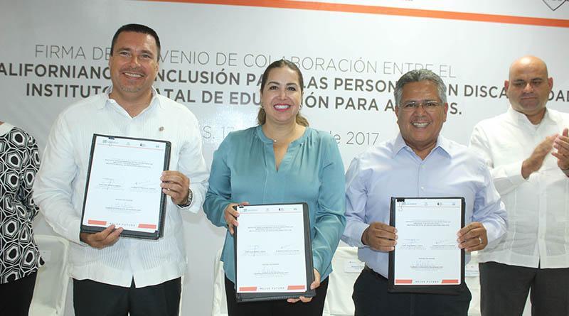 Impulsa IEEA educacion básica para personas con discapacidad
